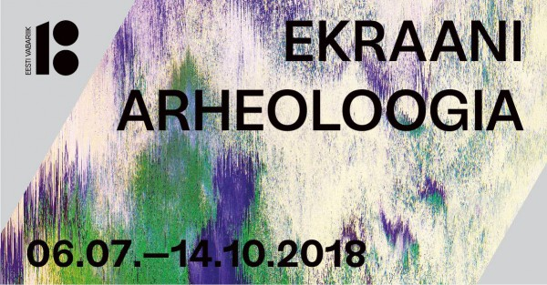 "Sigrid Viir as part of the group exhibition ""The Archaeology of the Screen"" in KUMU"