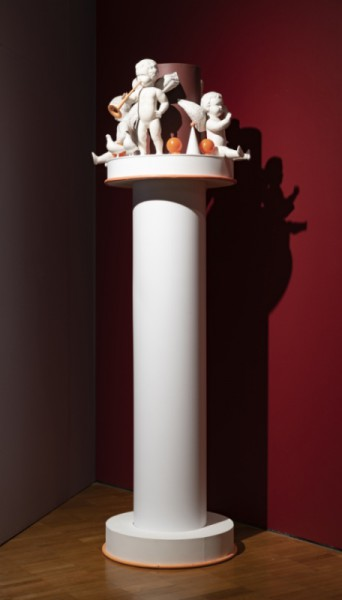 The Art Museum of Estonia Friends of Art Society gift to EKM for its 100th Anniversary is Kaarel Kurismaa's 'Amor Column'