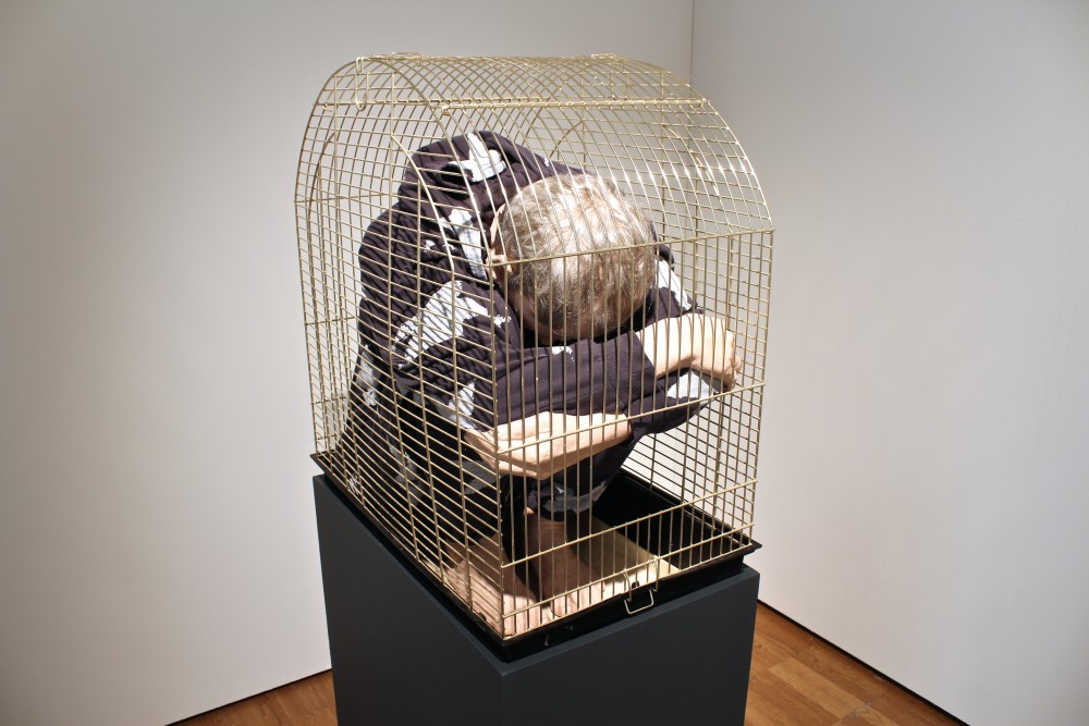 Self Portrait in a Cage