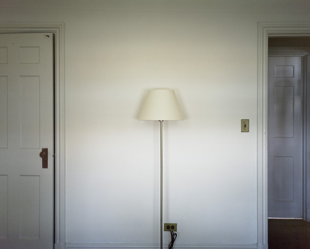 Lamp with Doors from series Being Present